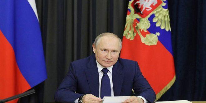 پوتین: ممنوعیت واردات تجهیزات پزشکی به سوریه اقدامی غیر انسانی است