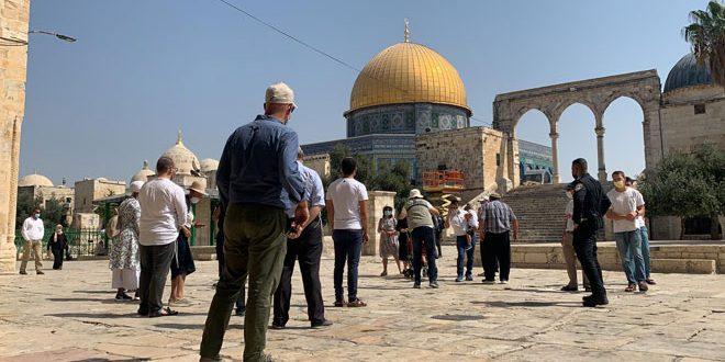 یورش ده ها شهرک نشین به مسجد الاقصی