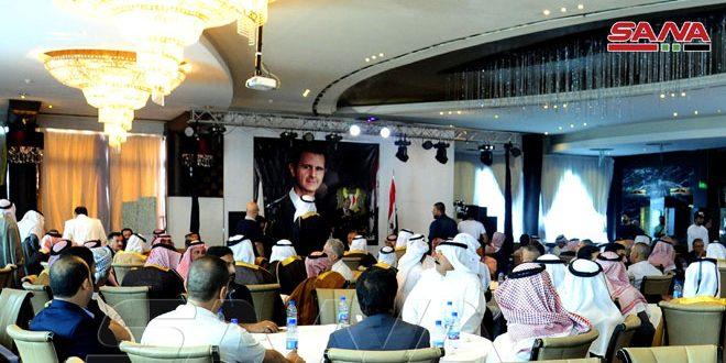 تاکید قبایل و عشایر عربی سوریه بر رد کامل هرگونه حضور خارجی غیرقانونی در سوریه