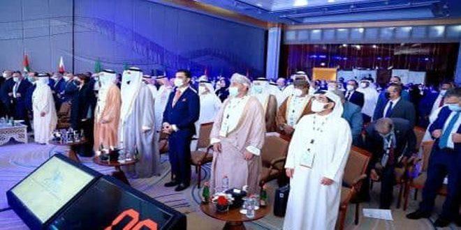 پنجمین مجمع آب های عربی با مشارکت سوریه در دبی افتتاح شد