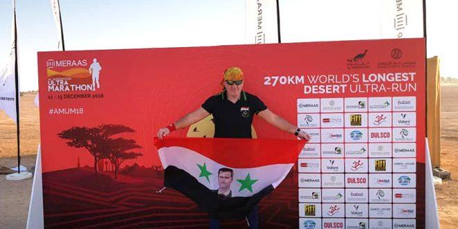 Le coureur syrien Imad Barakat occupe la 3e place au Championnat du monde de désert