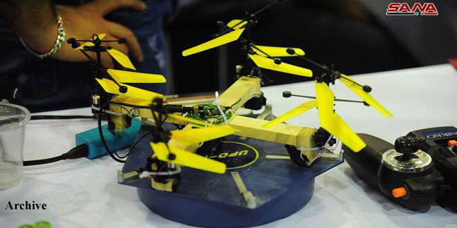 Salon al-Bassel de l'innovation et de l'invention dans le cadre des activités de la Foire internationale de Damas