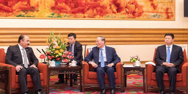 Le vice-président chinois affirme que son pays soutient la Syrie face au terrorisme