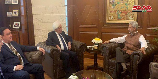 L'Inde affirme son soutien à la Syrie dans sa guerre contre le terrorisme