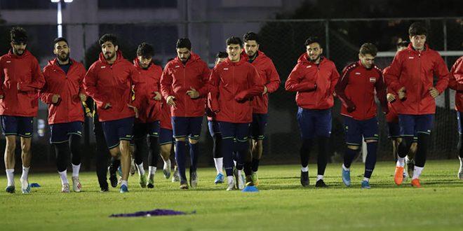 La sélection olympique syrienne de football bat son adversaire chinoise au tournoi amical international de Chine