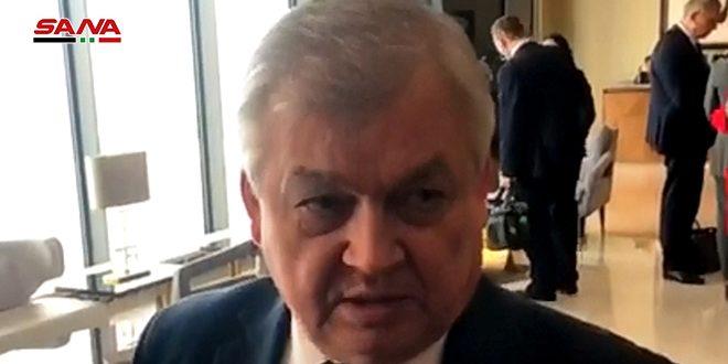 Lavrentiev: Les participants au 14e round des pourparlers d'Astana examineront la présence américaine illégale sur les territoires syriens