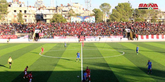 Le club Tichrine consolide sa place à la tête de la 1ère Ligue syrienne de football