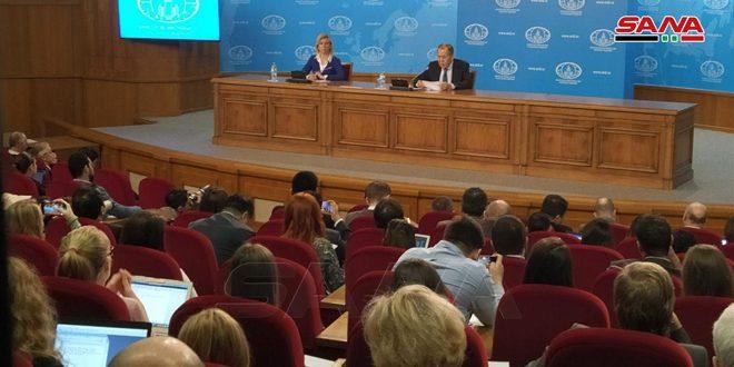 Lavrov : La lutte contre le terrorisme en Syrie et la recherche d'une solution politique à la crise sont des priorités pour la Russie