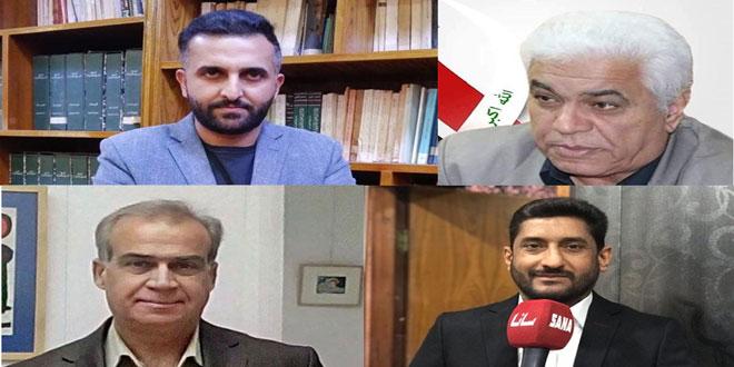 Des écrivains irakiens dénoncent les mesures coercitives et injustes américaines contre la Syrie