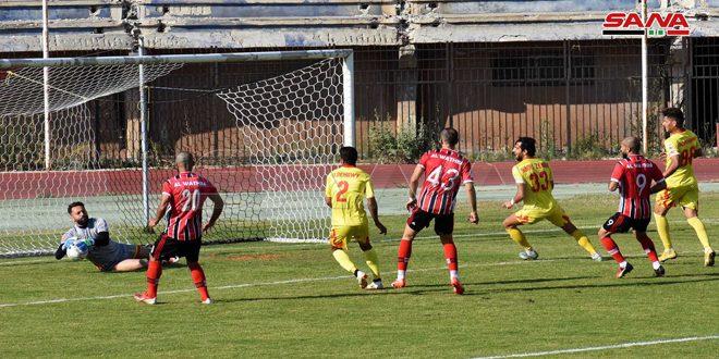 Al-Watheba bat Tichrine au 18e jour de la Première Ligue de football