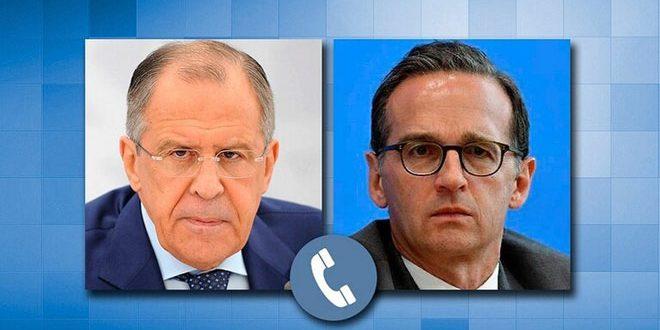 Lavrov examine avec son homologue allemand la question des mesures économiques coercitives visant la Syrie