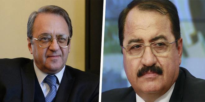 Bogdanov et Haddad examinent les derniers développements en Syrie