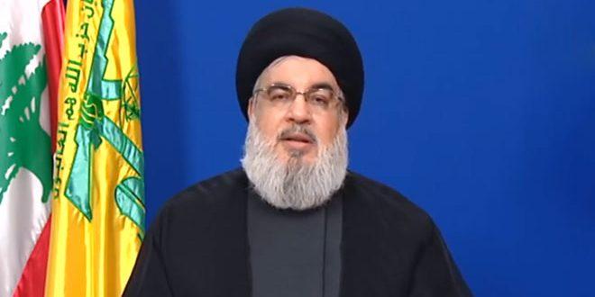 Nasrallah: Les Américains œuvrent de nouveau pour récréer «Daech» en Iraq, en Syrie, et au Liban pour justifier leur présence dans la région