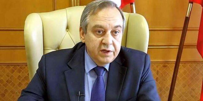 Le vice-Premier ministre de la Crimée: La coopération commerciale avec la Syrie se développe