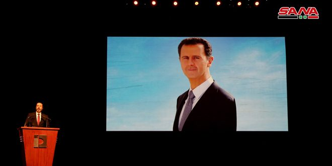 Message du président al-Assad aux athlètes à l'occasion de la fête d'or du sport syrien