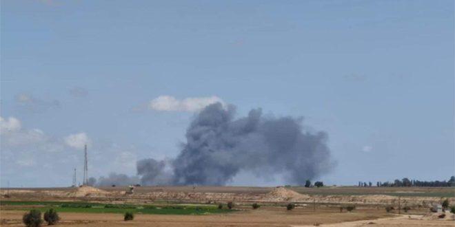 La résistance palestinienne riposte à l'agression israélienne et bombarde des positions de l'occupation à l'entour de la bande de Gaza