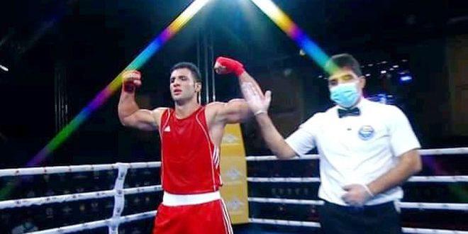 Le boxeur Alaa Ghossoun se qualifie en demi-finale du championnat du monde militaire