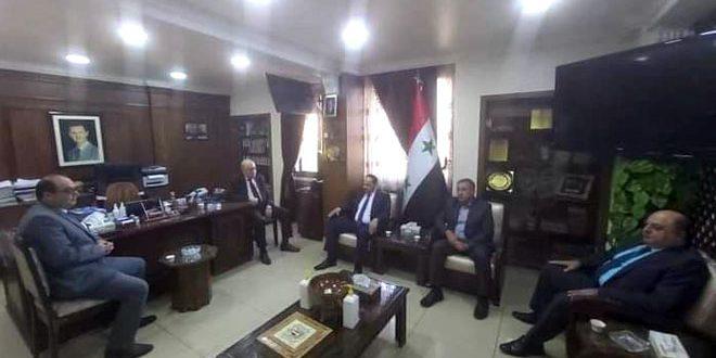 Entretiens syro-irakiens pour consolider les échanges commerciaux