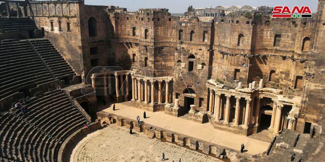 Site-web tchèque : Le théâtre de Bosra est l'un des meilleurs monuments archéologiques dans la région du Moyen-Orient