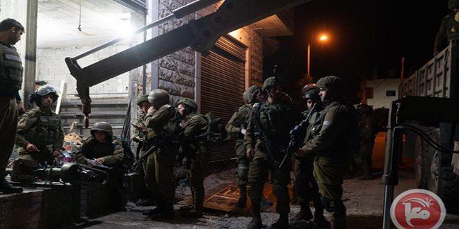 מעצרם של שני תושבים פלסטינים בבית לחם