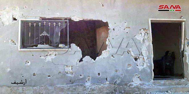 קבוצות טרורסטיות שבפרבר אידלב הדרומי תקפו עיר אל-סקילביה בפגזים