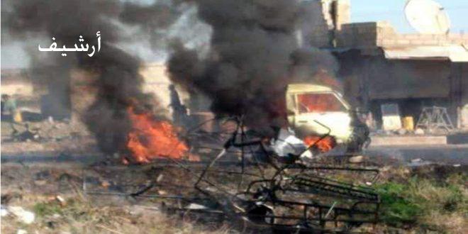 הריגת 2 חיילים טורקים וכמה טרוריסטים בריף א-רקה הצפוני