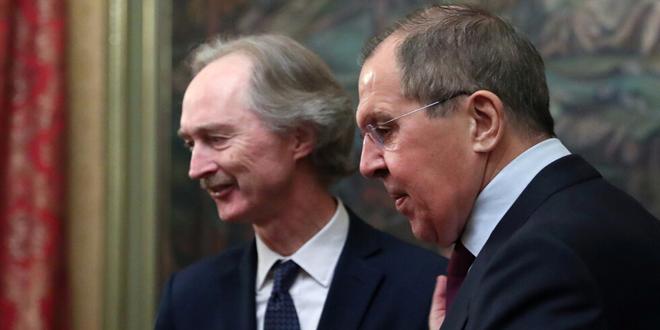 לברוב ופדרסן: יש לחסל את מוקד הטרור שבאידלב, להקל את חזרת המהגרים ולחדש את הבנייה בסוריה