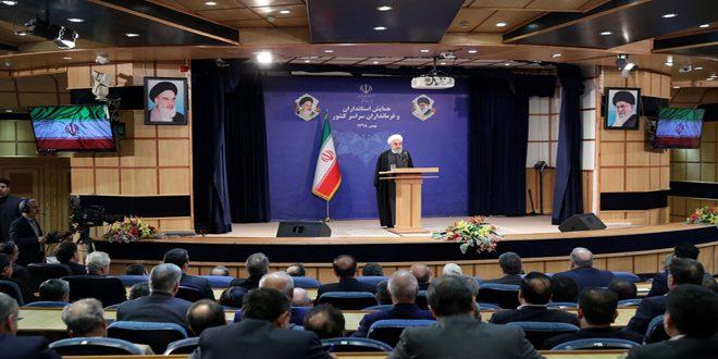 רוחאני: אסור לתת לטראמפ להצליח ליצור פערים בין העם האיראני