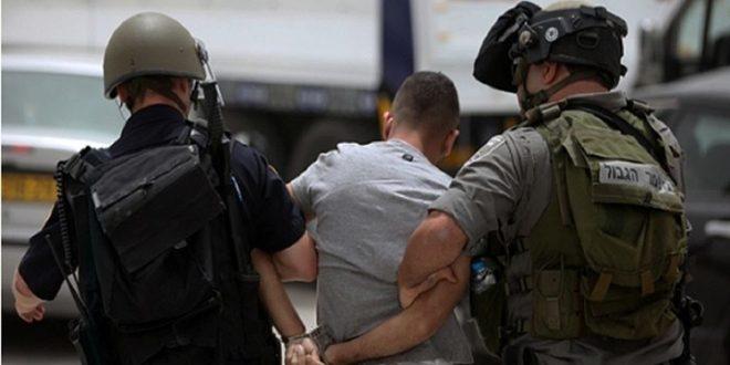כוחות הכיבוש הישראלי עצרו 15 פלסטינים בגדה המערבית
