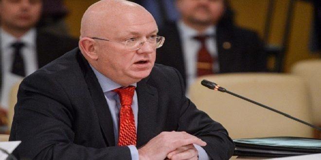 נבינזיה אמר כי ישנם מי שמנצלים את מנגנון הסיוע בניגוד לעיקרון הכבוד לריבונות ולאחדות סוריה