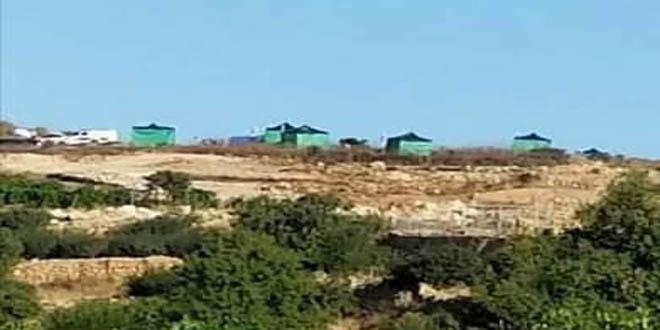 מתנחלים השתלטו על שטחי פלסטינים בחברון