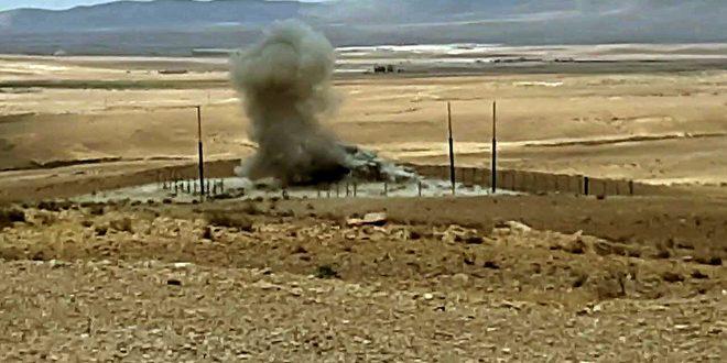 גילוי מטעני נפץ של דאעש בריף חומס