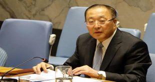 סין מחדשת קריאתה להסרת ההליכים השרירותיים החד צדדים המוטלים על סוריה