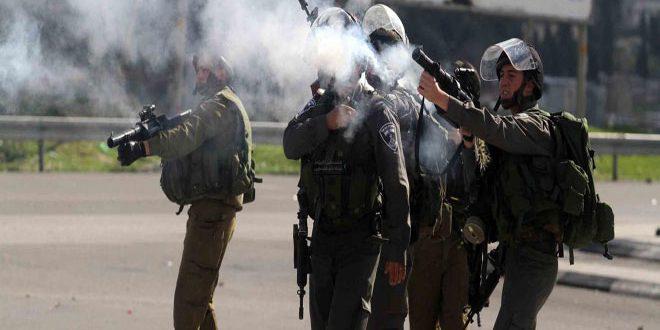פציעת עשרות פלסטינים במהלך פריצת כוחות הכיבוש למערב ג'נין