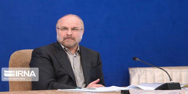 קאליבאף מדגיש את המשך תמיכת איראן בממשלת סוריה ועמה