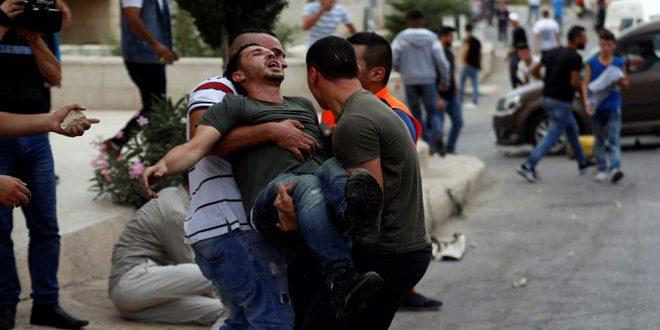 צעיר פלסטיני נפצע מתקיפות המתנחלים דרומית לשכם