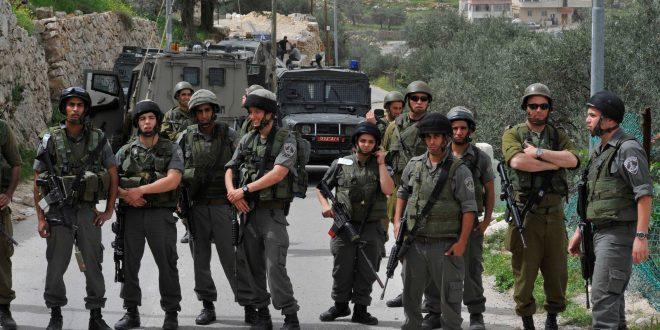 הכוחות הישראלים תקפו את הפלסטינים בעיר חברון שבגדה המערבית