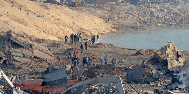 מספרם של קורבנות הפיצוץ שאירע בנמל ביירות עלה ל- 135 בני אדם