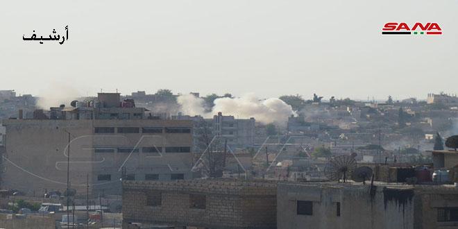 פציעתו של אזרח באש טורקית בקאמישלי