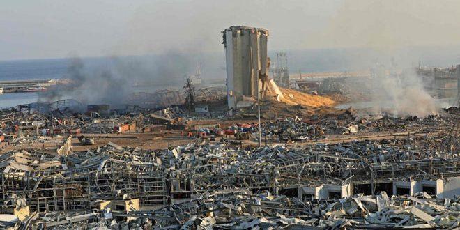 שגרירות סוריה בלבנון : 43 חללים סורים סך לא סופי מפיצוץ נמל ביירות