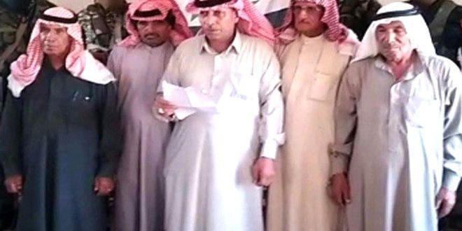 שבט סורי : יש לעמוד בתוקף מול הכיבוש האמריקני