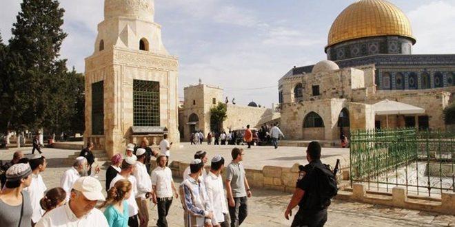 עשרות מתנחלים פרצו למסגד אלאקצה