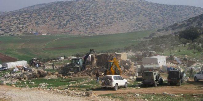 כוחות הכיבוש הורסים שני בתים בטובאס