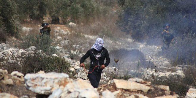עשרות פלסטינים נפגעו במהלך דיכוי כוחות הכיבוש להפגנה בכפר קדום