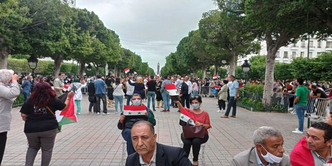 תוניסאים: קוראים להחזרת היחסים בין ארצם לסוריה