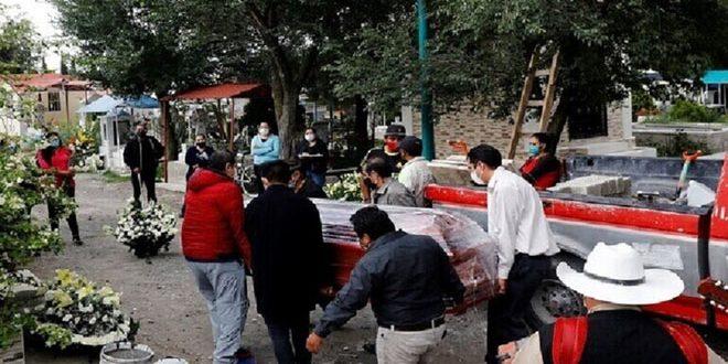 מקסיקו: 720,858 נדבקו מפרוץ המגיפה