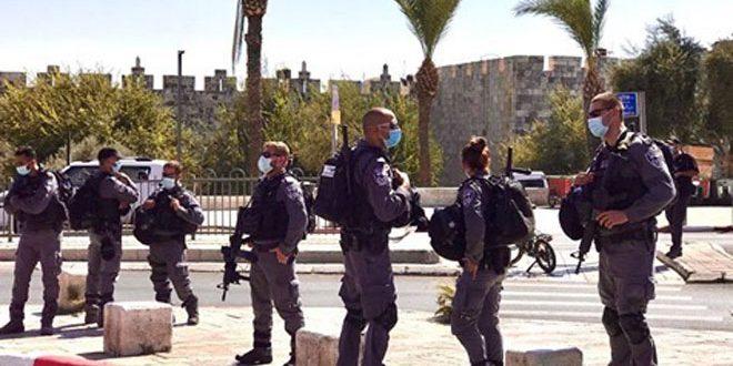 מעצרם של 3 פלסטינים באל-קודס הכבושה