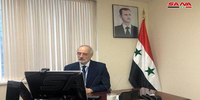 אל-ג'עפרי: הממשל האמריקאי והאיחוד האירופי ממשיכים את הטרור הכלכלי נגד סוריה