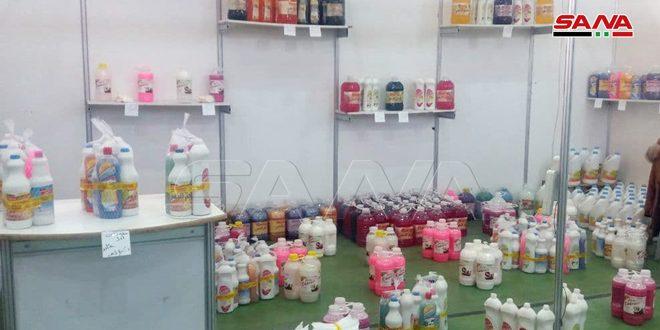 פסטיבל קניות באל-קונייטרה תחת הסיסמה / סוריה מאחדת אותנו /