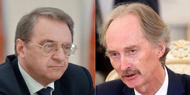 בוגדנוב ופדרסן דנו טלפונית בהכנות כינוס הסיבוב החמישי של ועדת דיוני התחוקה